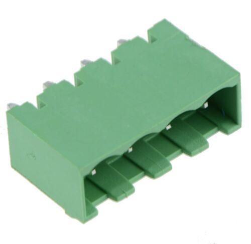 4-Way Plug-in de Pcb Vertical Cerrado el cabezal 5.08mm