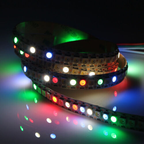 Details about  /SK6812 WS2812B IC LED strip light 5050 RGB RGBW 30//60//144 Pixels Addressable 5V