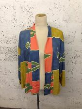 Ladies Vintage Retro Boho Tribal Southwest Indian Kimono 6/8/10/12 J23