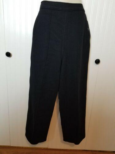 1940's Pleated Snow Pants Women's Wool Ski Trouser