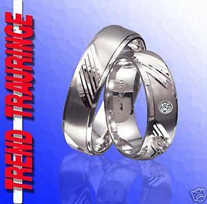 Hochzeitsschmuck T26-1 Energisch 2 Silber Partnerringe Trauringe Verlobungsringe Eheringe & Gravur Gratis
