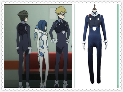 DARLING in the FRANXX HIRO Code 016 Cosplay Costume Jumpsuit Outfit:SD