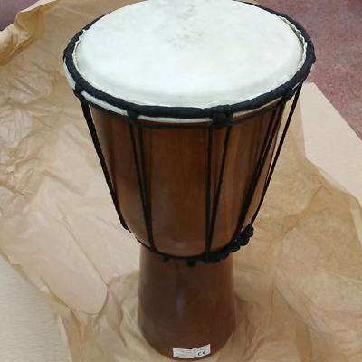DJEMBE DRUM Disney Theatrical Group Ltd The Lion King Wooden Prop