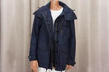 BURBERRY BRIT ANORAK WINDBREAKER NAVY BLUE PARKA COAT JACKET 8 $865