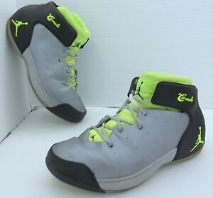ae23f51fa2f1 Nike Air Jordan Melo 1.5 Men s 10.5 - Wolf Gray Volt 631310-013 ...