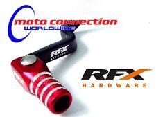 Black//Red RFX FXGP 60600 55RD Race Series Gear Pedal Husqvarna CR250-300//WR250-300 06-13