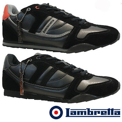 MENS LAMBRETTA DESIGNER SMART DRESS CASUAL FORMAL SPORTS SHOES TRAINERS SIZE