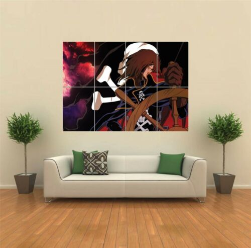 SPACE PIRATE CAPTAIN HARLOCK ENDLESS ANIME GIANT POSTER ART PRINT PICTURE G893
