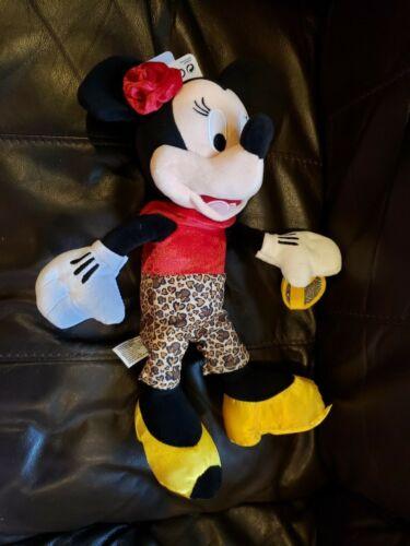 "Disney Parks Minnie Mouse Plush Doll 12/"" NEW"