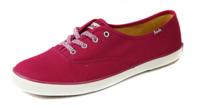 9150719d378 Keds Women s Burgandy CH Ox SNEAKERS Shoes Ret Medium 10 for sale ...