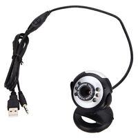 50.0M 6 LED USB HD Webcam with Microphone Web Cam Camera Laptop Computer Mic 30M