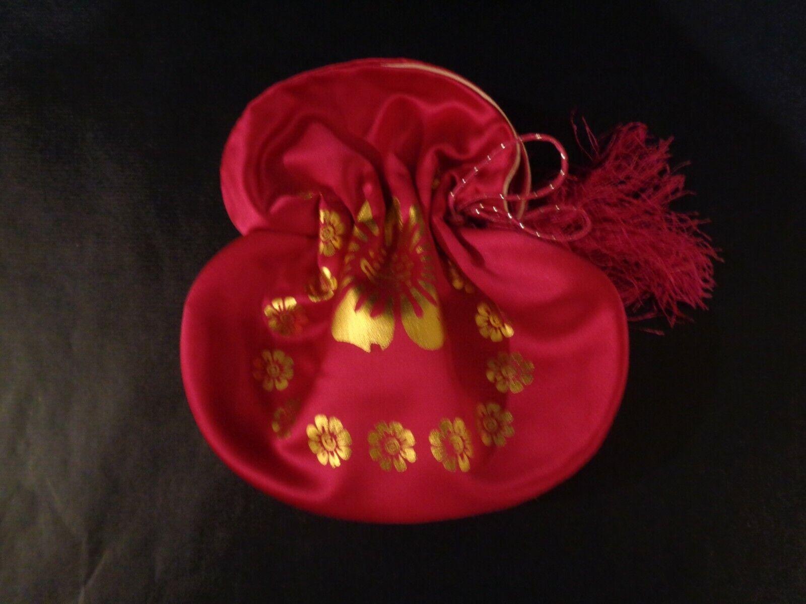 Traditional Korean Hanbok Hand Made Dark Pink