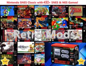 Super-Nintendo-Classic-Edition-Console-SNES-Mini-Entertainment-System-450-Games