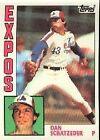 1984 Topps Dan Schatzeder #57 Baseball Card