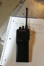 Motorola HT1000 Portable VHF 16 Channel Radio H01KDC9AA3BN  WITH BATTERY