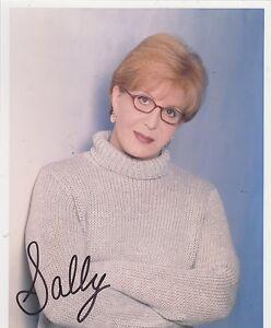 8x10 signed photo #0049 w/AUTOGRAPH - SALLY JESSY RAPHAEL - TALK SHOW HOST