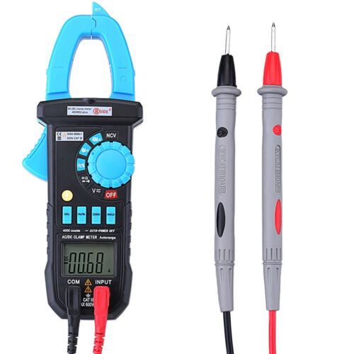 Bside ACM03 Plus LCD Digital Zangenamperemeter Multimeter Ac Gleichstrom AC/&DC