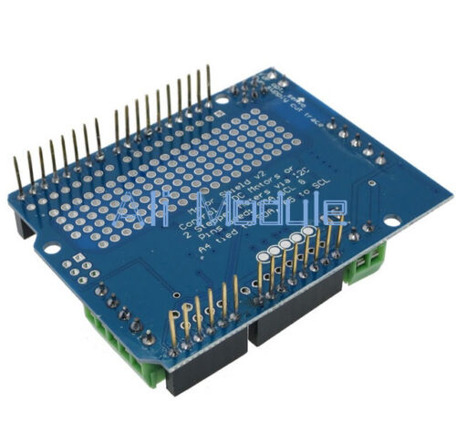 I2C TB6612 motor gradual PCA9685 Servo Controlador Board Sheld V2 F Arduino Robot PWM