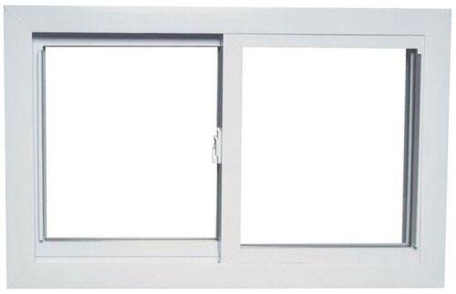 Horizontale coulissante Blanc Vinyle Fenêtre Remplacement Buck Cadre Universel moderne