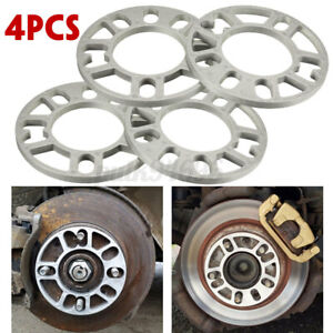 4X10MM-ALLOY-ALUMINUM-WHEEL-SPACERS-SHIMS-SPACER-UNIVERSAL-4-5-STUD-FIT-AUTO-CAR