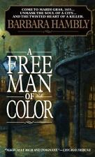 A Free Man of Color (Benjamin January, Book 1) by Barbara Hambly, Good Book
