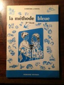 Details Sur Livre Scolaire Lecture La Methode Bleue 2 Livret Nathan 1960 Eo