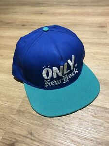 Image is loading Only-NY-SnapBack-Cap-Hat-Blue 583f31da89b