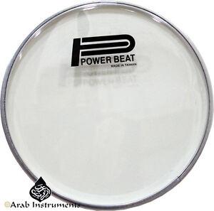 "9"" Darbuka / Doumbek Transperant Skin / Head - Power Beat Doumbek"