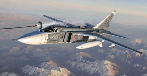 Trumpeter 1 72 Sukhoi Su-24M Fencer-D