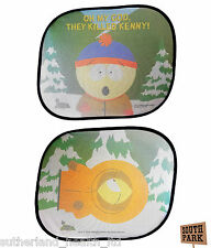 x2 Official South Park Car Sunshades / Sunblinds / Sun Blocker