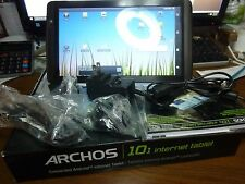 "New Archos Internet Tablet 101 6GB, WI-FI, 10.1""  kick stand - Black"