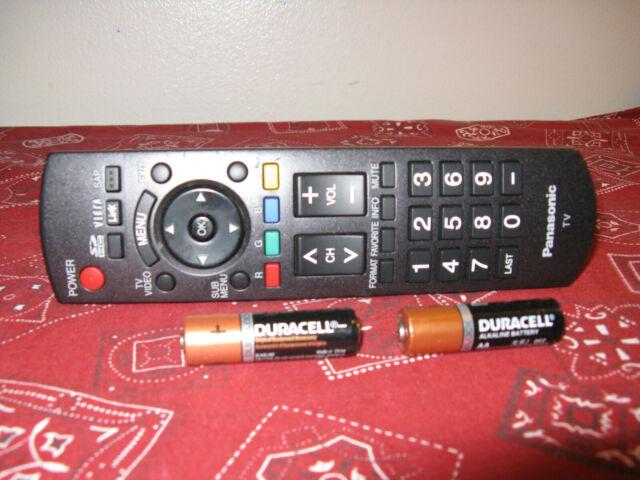 TH-50LRU60 US Seller New Panasonic N2QAYB000820 Remote Control for TH-65LRU60U