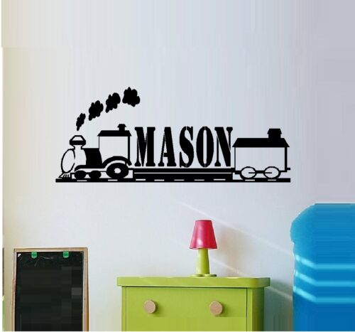 Train #33 Popular Charaters Custom Name ~ Wall Decal