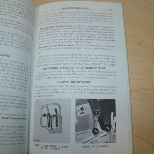 CAT Caterpillar 571 Pipelayer Operation Operator Manual owner maintenance book