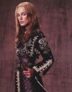 Keira-Knightley-Pirates-of-The-Caribbean-Signed-Autograph-8x10-Photo-COA-3
