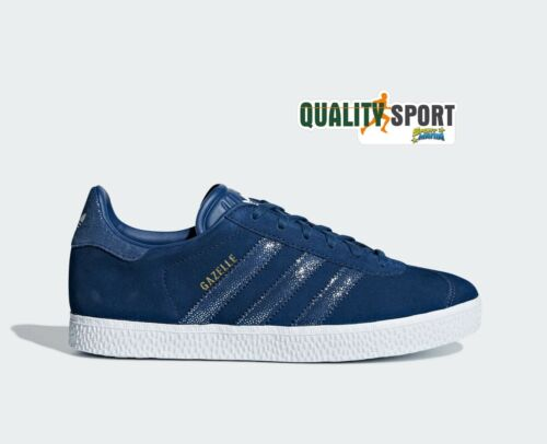 2019 Donna Sneakers Blu Adidas Scarpe Gazelle Cg6695 Shoes Sportive 68gawqPwtx