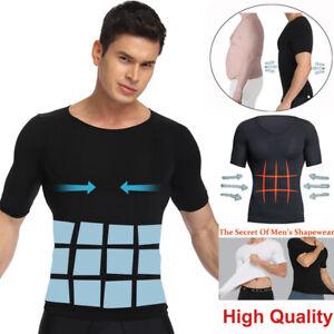 Men-039-s-Slimming-Body-Shaper-Posture-Corrector-Vest-Abdomen-Compression-Shirt-Tops