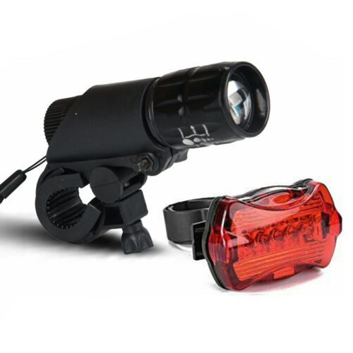 Rear Safety Flashlight Set Waterproof Z LED Lamp Bike Bicycle Front Head Light