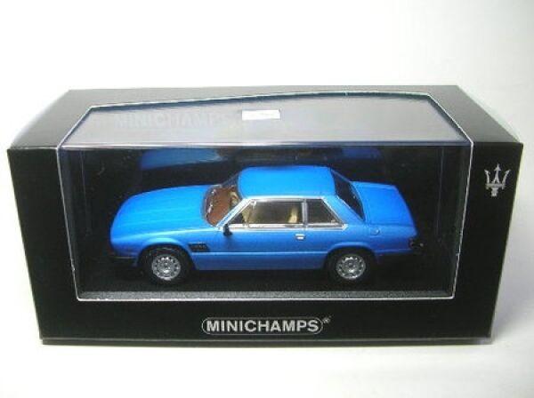 Maserati Kyalami (bleu) 1982