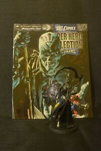 Nekron Eaglemoss dc figurine and magazine