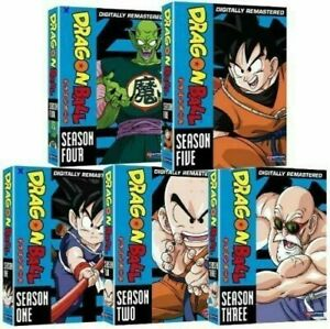 Dragon-Ball-DVD-Complete-Series-All-Season-1-5-TV-DB-Collection-Episodes-Volumes