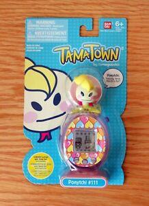TamaTown-by-Tamagotchi-Figure-Ponytchi-111-Bandai-2010-New