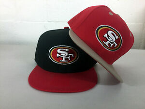 San-Francisco-49ers-Snap-Back-Cap-Hat-SF-Embroidered-Adjustable-Flat-Bill