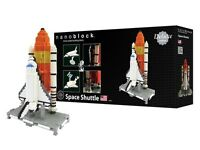 kawada nanoblock deluxe edition space shuttle micro sized building block toy new Toys