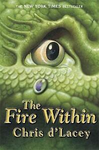 The-Fire-Within-by-Chris-d-039-Lacey-Good-Used-Book-Paperback-FREE-amp-FAST-Deliver