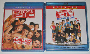 Comedy-Blu-ray-Lot-American-Pie-New-The-Book-of-Love-New
