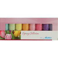 Thread Set Mettler Silk Finish 8 Spool Thread Gift Set Spring By Mettler