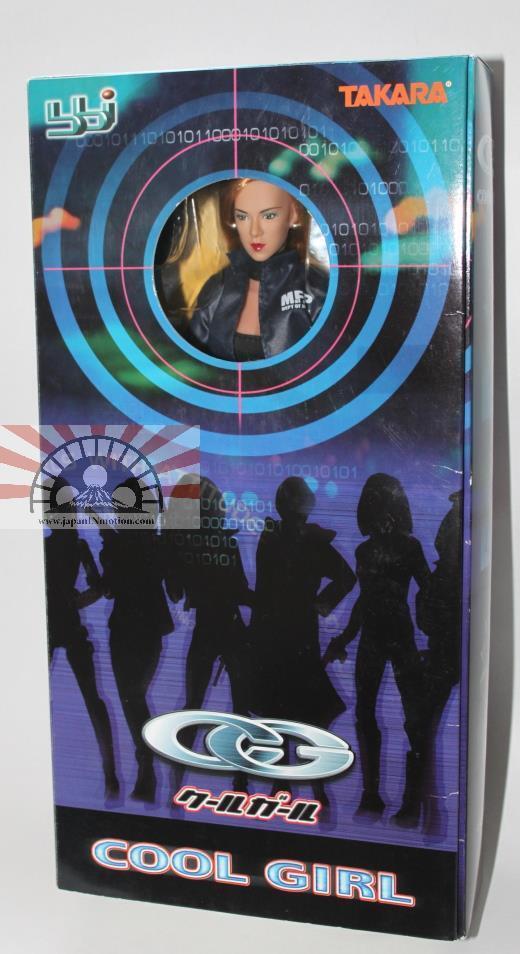 ATH29016 Takara Cool Girl CG-04 Flame Cy Girl 1/6 Action Figure bbi MIB