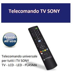 Telecomando-universale-per-tutti-i-TV-televisori-SONY-Pronto-all-039-uso