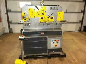 -FERRAILLEUSE 45T IRONWORKER Canada Preview